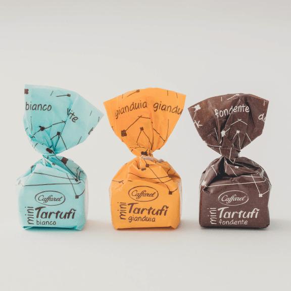 ホイルの可愛いチョコレートデザイン