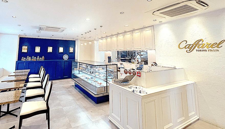 カファレル神戸北野本店 店内風景