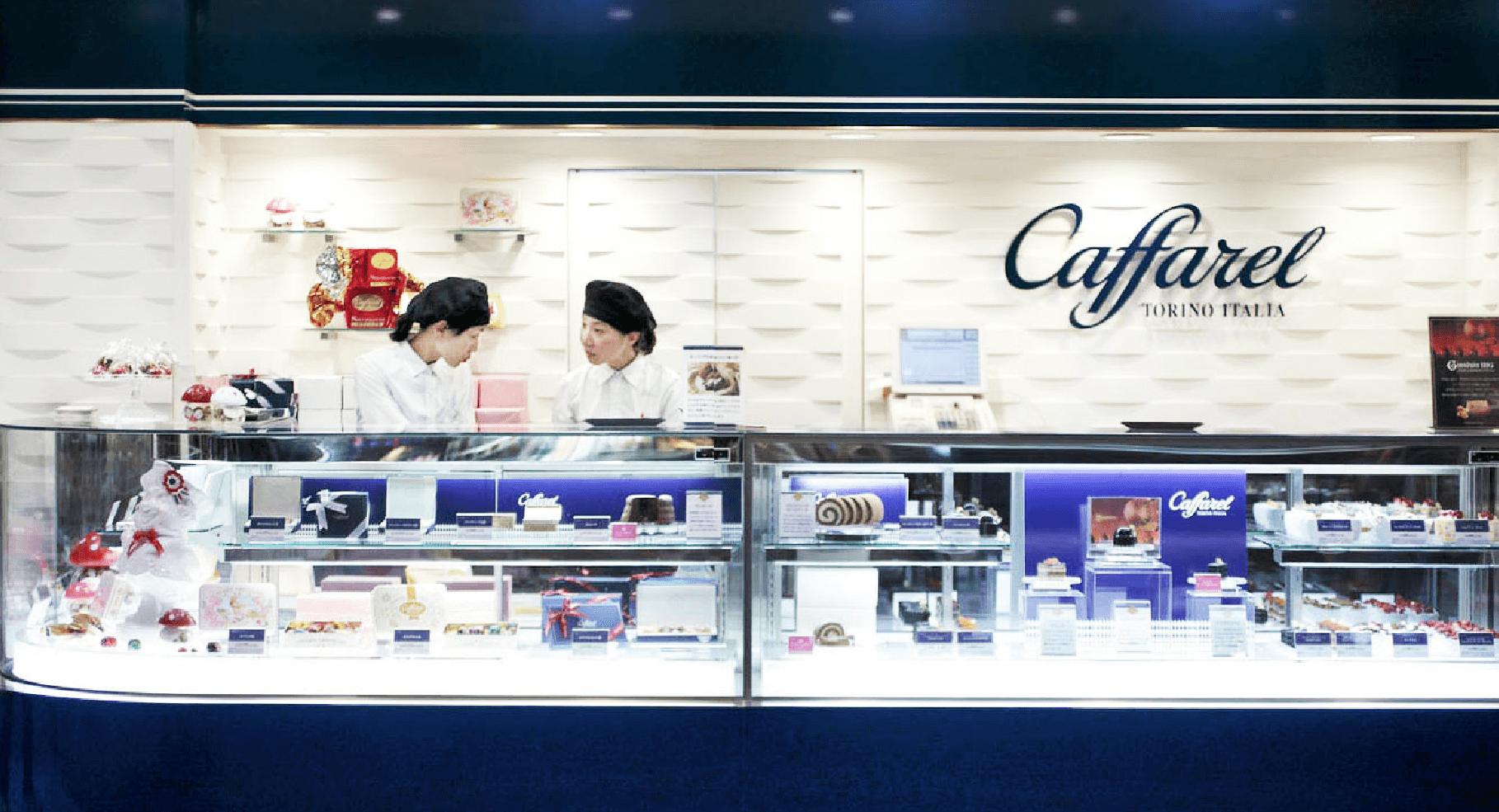 東京駅の改札内でお土産を買うならカファレル東京駅グランスタ店が便利です