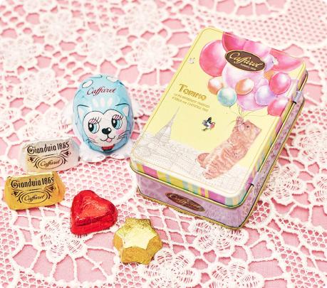 可愛い猫の2020バレンタインチョコレート缶