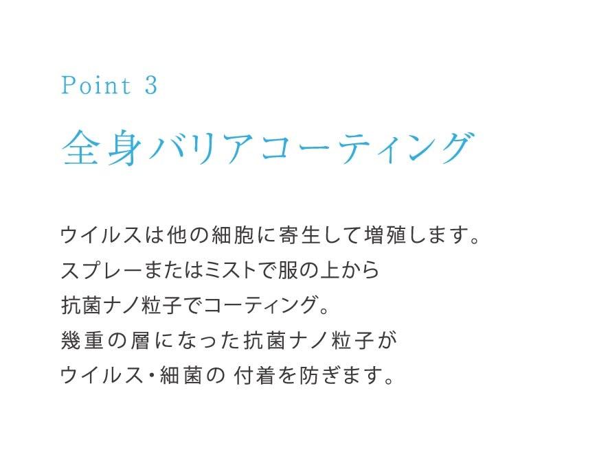 [point3]全身バリアコーティング