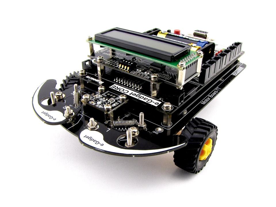 ロボットプログラミングキット e-Gadget-TT(イー・ガジェット)