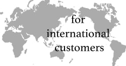 for internatiional customers