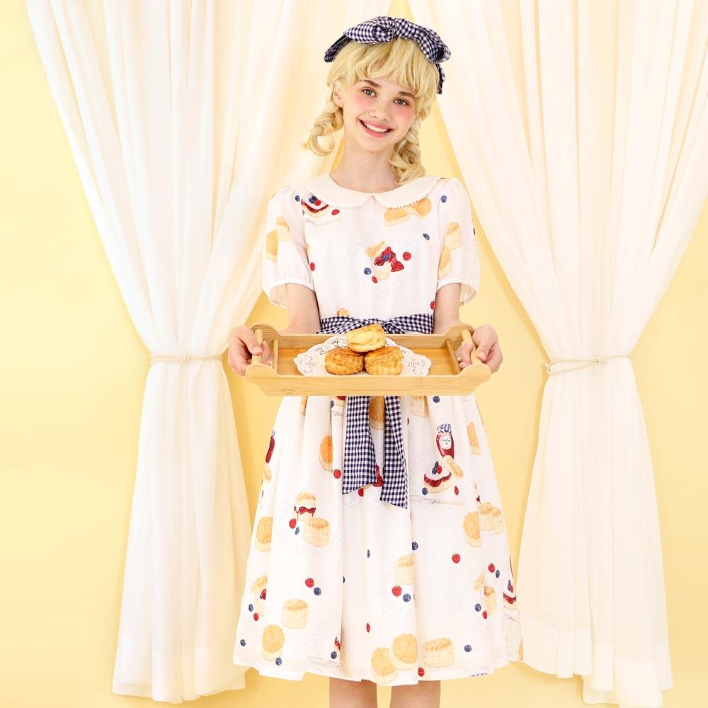 【 Reservation 】 milk scone ワンピース