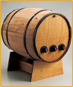BOXワイン用樽サーバー 横型 3つ穴  ×1コ