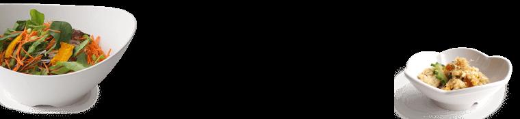 耐熱サークルプレートホワイトストーンL