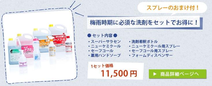 業務用洗剤4点セット(各スプレー付)