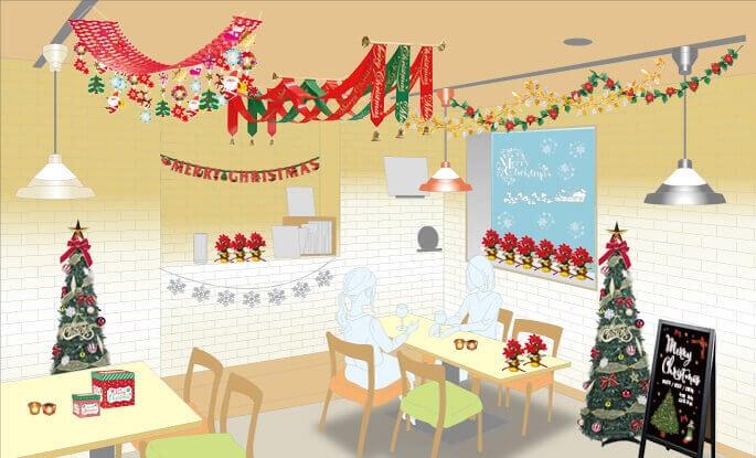 ハロウィン店入口 店内装飾イメージ