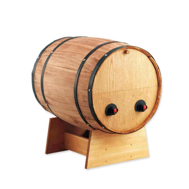 名入れ BOXワイン用樽サーバー 横型 2つ穴 ×1コ