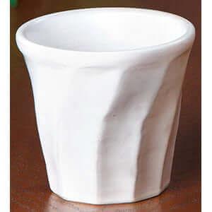 ねじりロックカップ 粉引 ×5コ