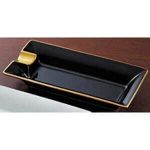 葉巻トレー ゴールド巻き黒 ×1コ