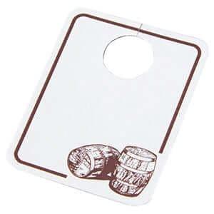 テイスティンググラス用 銘柄タグ ×150枚