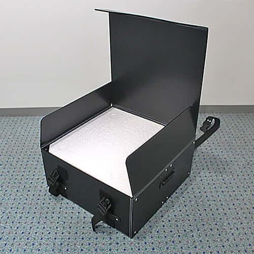 シャンパンタワー台 3・4段 正方形・LEDケース 通箱 ×1コ