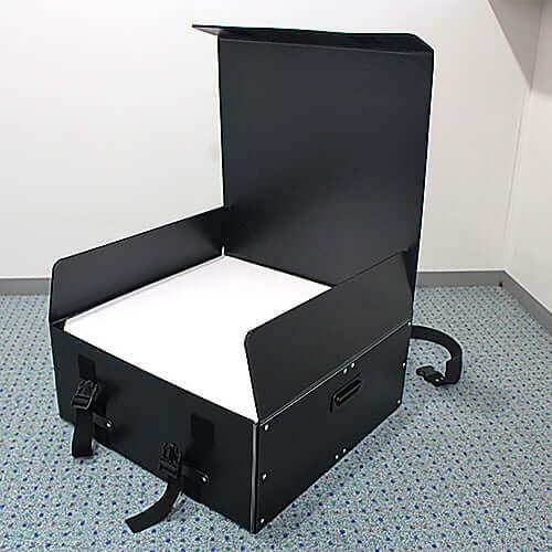 シャンパンタワー台 5段 正方形・LEDケース 通箱 ×1コ