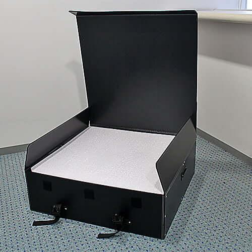 シャンパンタワー台 7段 正方形・LEDケース 通箱 ×1コ
