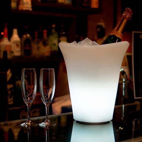光るワイン・シャンパンクーラー(充電式)×1コ