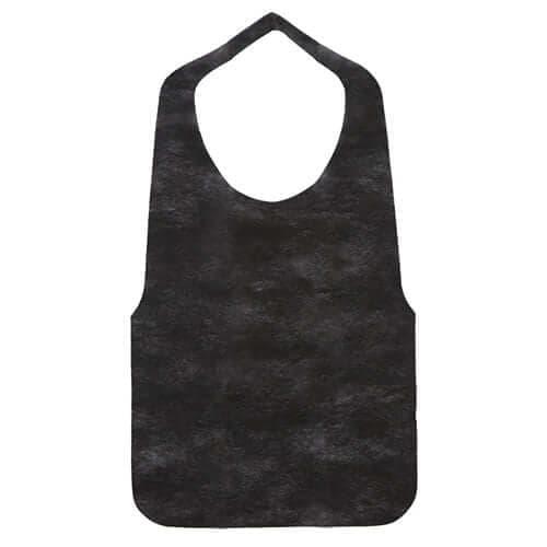 使い捨て不織布エプロン(300枚入) 黒 ×1セット