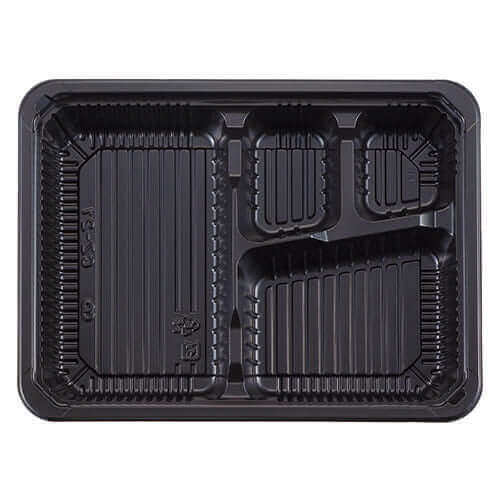 【レンジ対応】弁当容器CZ-21 BS黒本体 ×600コ