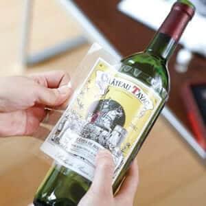 ワインラベル保存シール(12枚入) ×5セット