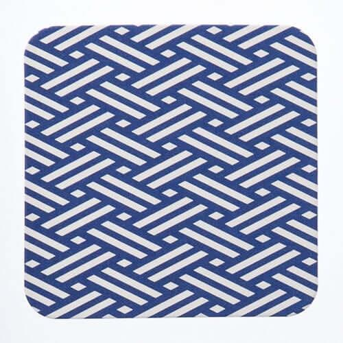 和柄コースター 角丸型 三崩し(さんくずし) ×100枚