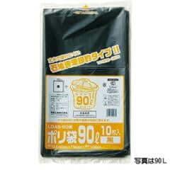 厚口業務用 LDポリ袋 70L 黒(10枚入) ×30セット