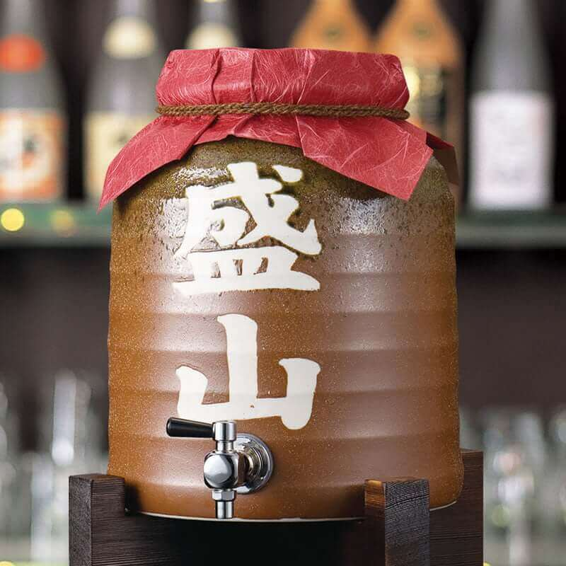 焼酎カメ5.4L 手書き名入れ 茶 ×1台