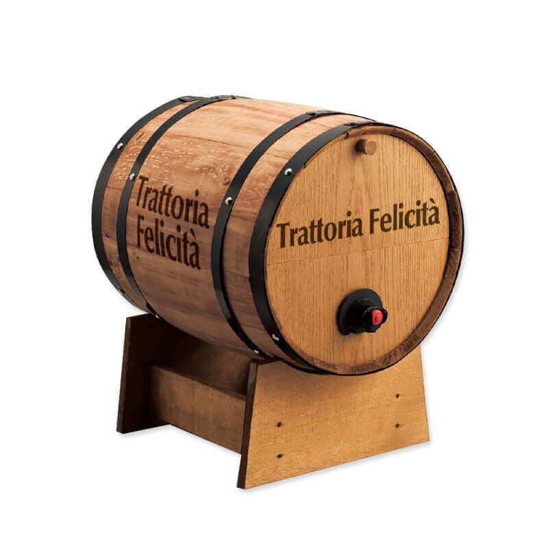 名入れ BOXワイン用樽サーバー 横型 1つ穴  ×1コ
