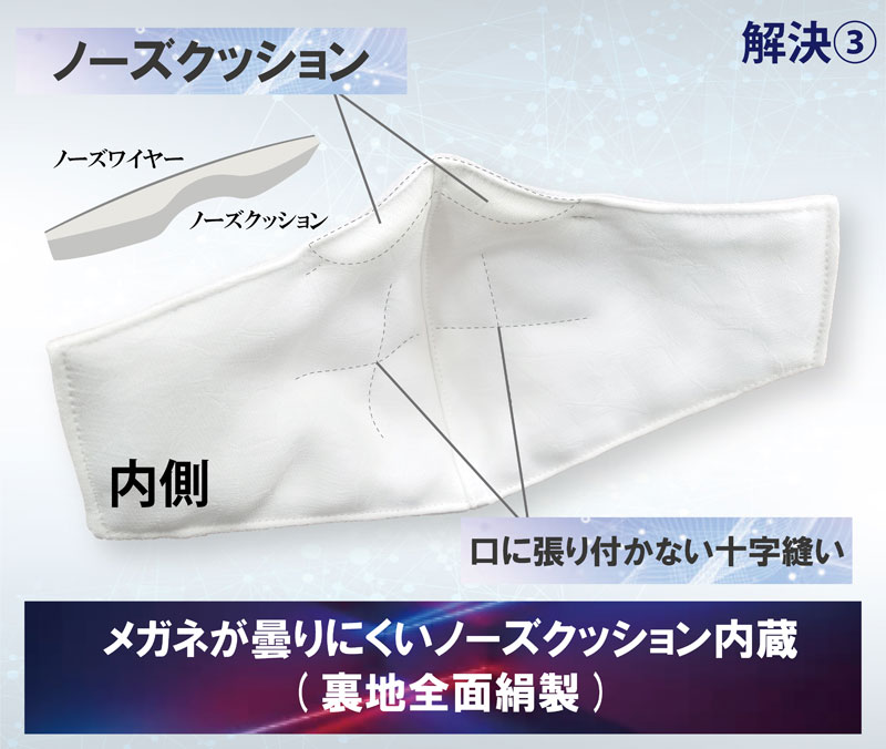 小杉織物 ナノフィットシルクマスク