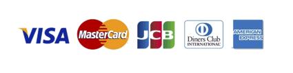 ご利用可能なクレジットカードの画像