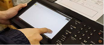 シャープ(SHARP)コピー機設定サービスのイメージ