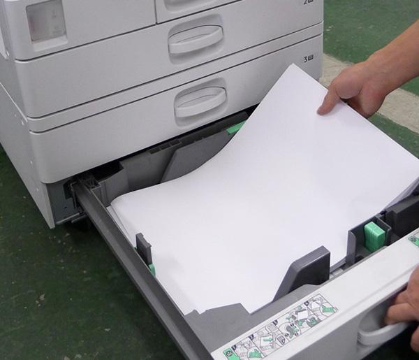 コピー用紙のまるごと交換