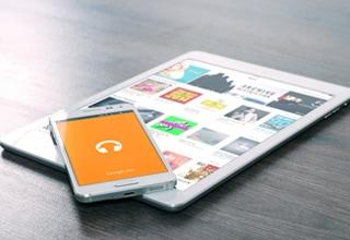 タブレット端末、スマートフォンとの連携イメージ
