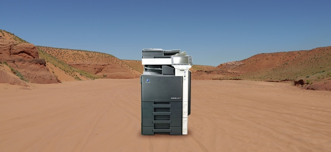 コピー機の紙詰まりの原因4 乾燥
