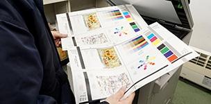 コピー機の整備工程 印字テスト