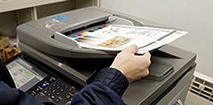 コピー機の整備工程 自動原稿送り装置の確認と整備