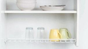 食器の水切り付き食器棚イメージ