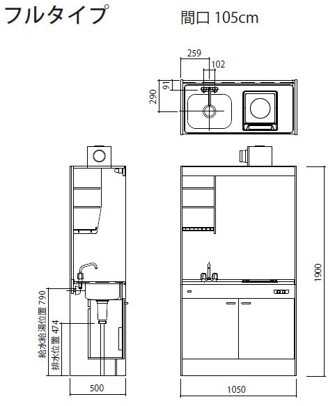 fk105寸法図