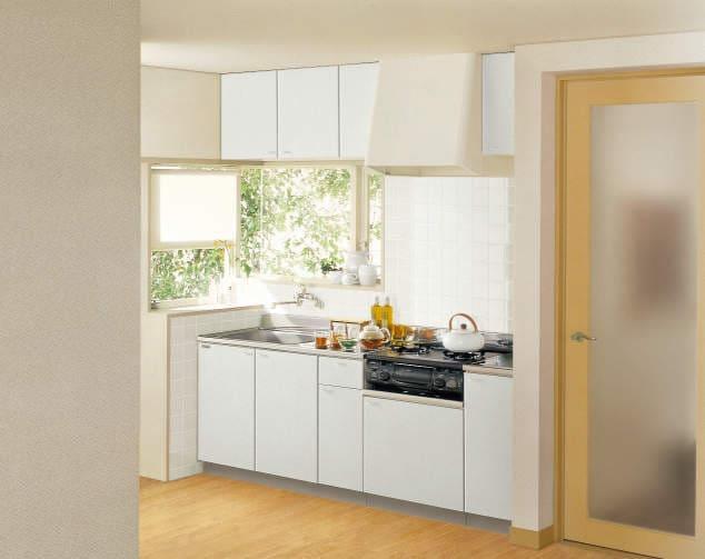 クリナップ 木キャビキッチン 浅型トラップ イメージ