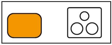 クリナップ コンパクトキッチン colty(コルティ)  I型 左シンク 図面
