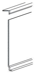 FUKUVI リフォームカバー工法 幅木カバー 模式図