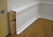 FUKUVI リフォームカバー工法 幅木カバー 施工手順1
