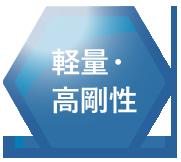 岐阜プラスチック TECCELL アイコン 軽量・高剛性