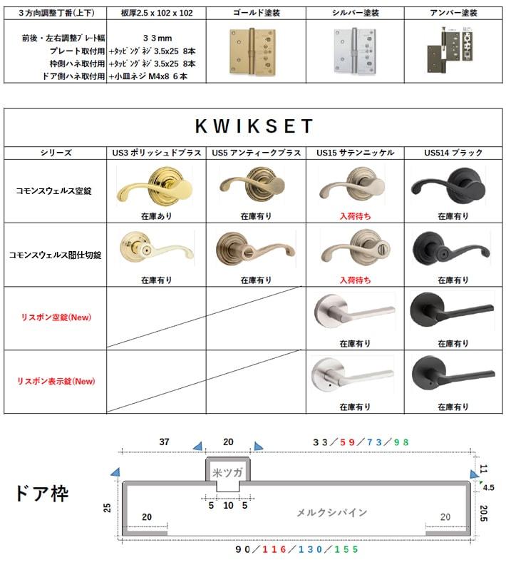 インテラジャパン 建具セット