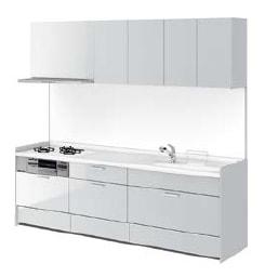 リクシル システムキッチン アレスタ(ALESTA) I型 扉カラー シルバーグレー:S60[E]