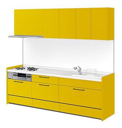 リクシル システムキッチン アレスタ(ALESTA) I型 扉カラー ソリッドイエロー:Y63[H]