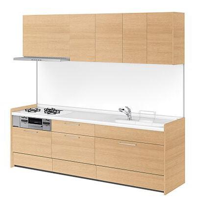 リクシル システムキッチン アレスタ(ALESTA) I型 扉カラー クリエラスク:N64[G]