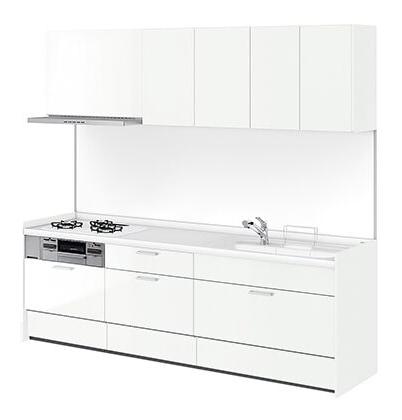 リクシル システムキッチン アレスタ(ALESTA) I型 扉カラー スムースホワイト:W60[E]