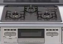リクシル システムキッチン アレスタ(ALESTA) 3口ガスコンロ ホーロートップタイプ