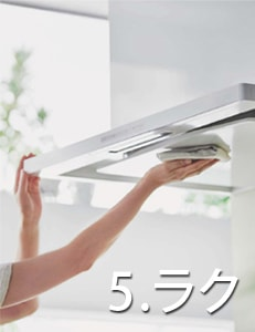 リクシル システムキッチン アレスタ(ALESTA) 特長 よごれんフード