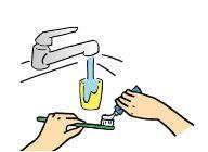 タッチレスではない水栓
